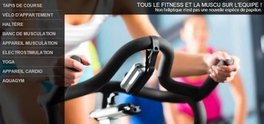 materiel sport musculation